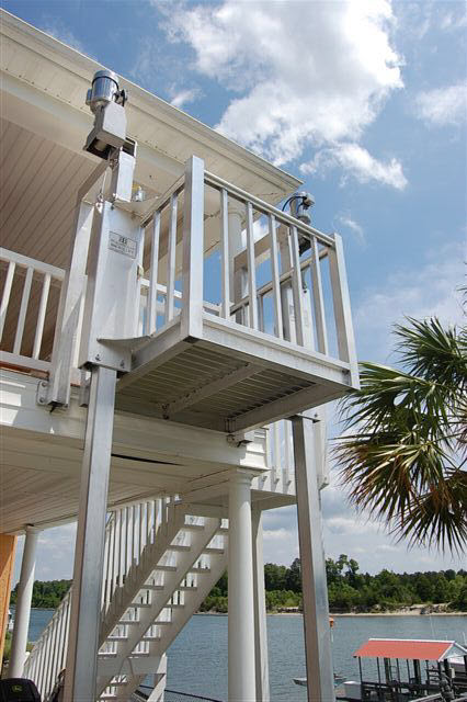R e a l beach house lifts for Beach butler elevator